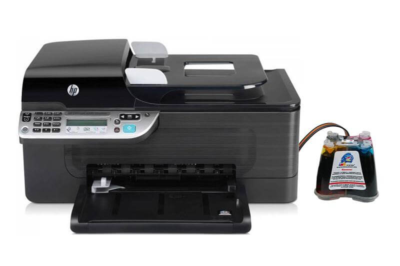 фото МФУ HP OfficeJet 4500 с СНПЧ