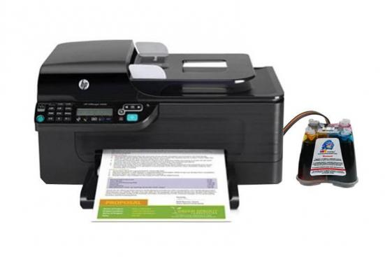 фото МФУ HP OfficeJet 4500 WL с СНПЧ