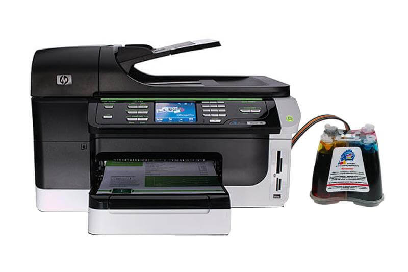 МФУ HP OfficeJet 8500A Plus с СНПЧ