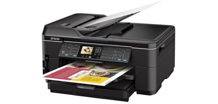Epson WorkForce WF-7515 с СНПЧ 4