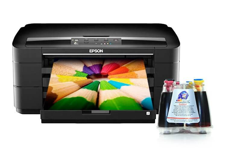 Принтер Epson WorkForce WF-7015 с СНПЧ
