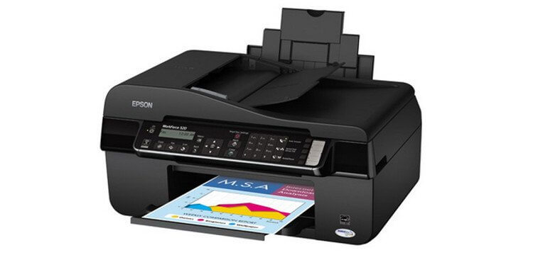 Epson WorkForce 520 с СНПЧ