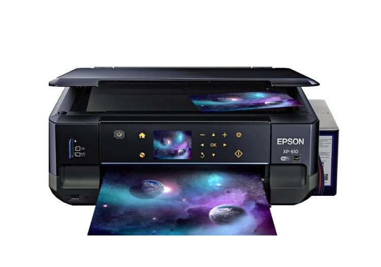 фото МФУ Epson Expression Premium XP-610 Refurbished с СНПЧ
