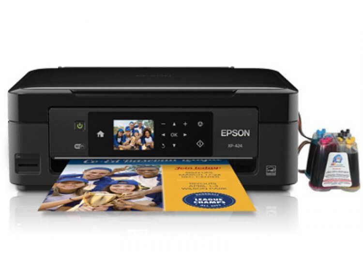фото МФУ Epson Expression Home XP-424 с СНПЧ