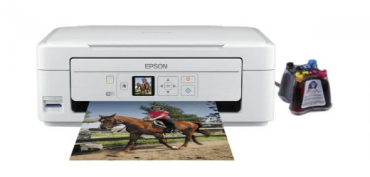 фото МФУ Epson Expression Home XP-325 с СНПЧ