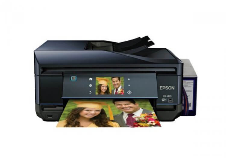 МФУ Epson Expression Premium XP-810 Refurbished by Epson с СНПЧ и чернилами
