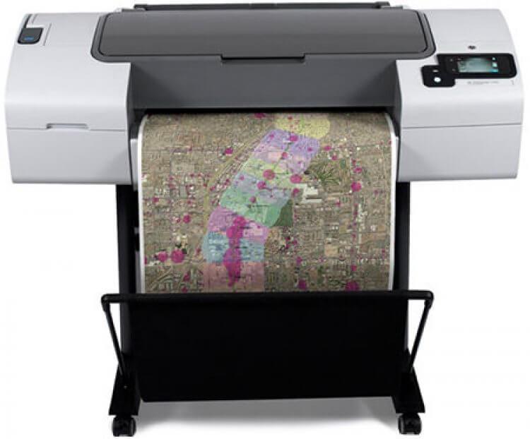 Плоттер HP DesignJet T790 24 с СНПЧРаспечатка рекламных материалов, чертежей, печать иллюстраций для выставки или оформление точек продаж. Какая бы ни была задача - эта 4-х цветная широкоформатная машина обеспечит износостойкость репродукций и их впечатляющее качество.&amp;nbsp; При этом плоттер поддерживает возможность печати на рулонах разнообразной толщины с максимальной шириной в 610 мм.<br>