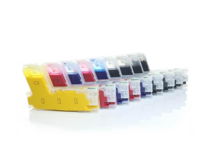 Перезаправляемые картриджи для Epson SureColor SC-P800Перезаправляемые картриджи изготовлены по аналогии с оригинальными картриджами, однако позволяют дозаправлять каждый картридж снова и снова.<br>
