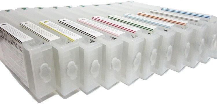 Перезаправляемые картриджи для Epson SureColor SC-P9000Перезаправляемые картриджи изготовлены по аналогии с оригинальными картриджами, однако позволяют дозаправлять каждый картридж снова и снова.<br>
