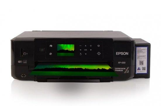 изображение МФУ Epson Expression Premium XP-630 Refurbished с СНПЧ и светостойкими чернилами INKSYSTEM