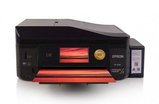 МФУ Epson Expression Premium XP-830 Refurbished с СНПЧ и светостойкими чернилами INKSYSTEM фото
