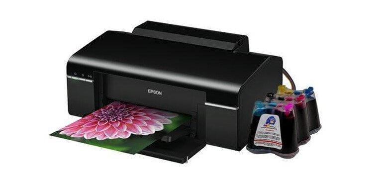 Принтер Epson Artisan 50 с СНПЧ