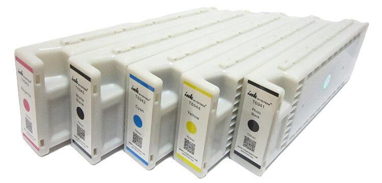 Перезаправляемые картриджи для Epson SureColor SC-T3200 с одноразовым чипом