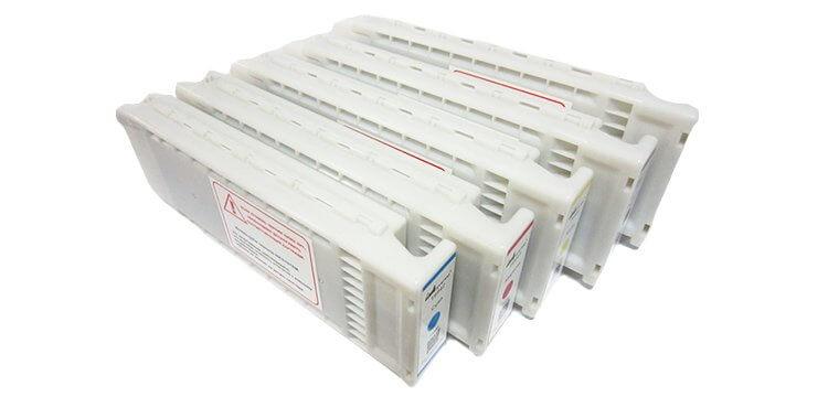 Перезаправляемые картриджи для Epson SureColor SC-T7200 с одноразовым чипом