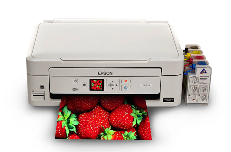 МФУ Epson Expression Home XP-335 с СНПЧ