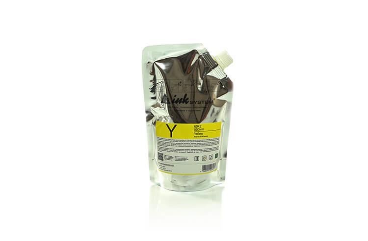 Светостойкие чернила INKSYSTEM Yellow, дой-пак 500 мл от Inksystem