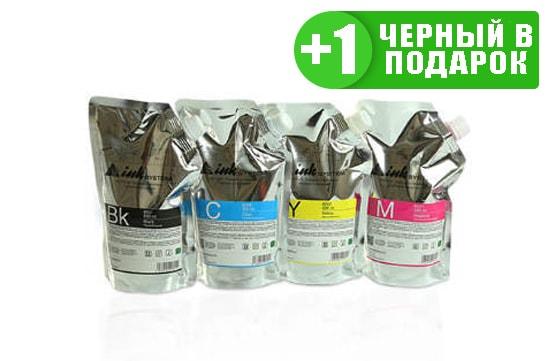 Светостойкие чернила INKSYSTEM для фотопечати, дой-пак 500мл (4 цвета) от Inksystem