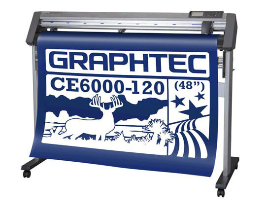 Режущий плоттер Graphtec CE6000-120 AMO со стендом