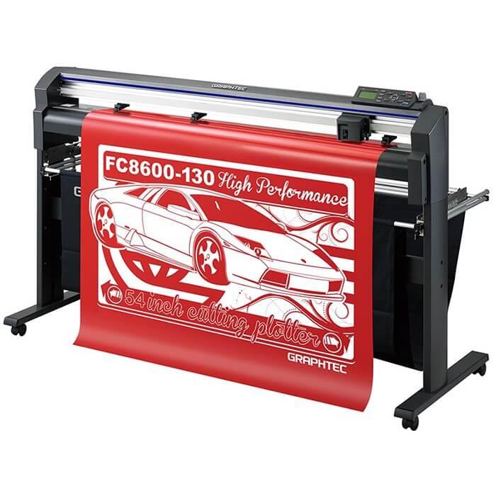 Режущий плоттер Graphtec FC8600-130 со стендом и корзиной