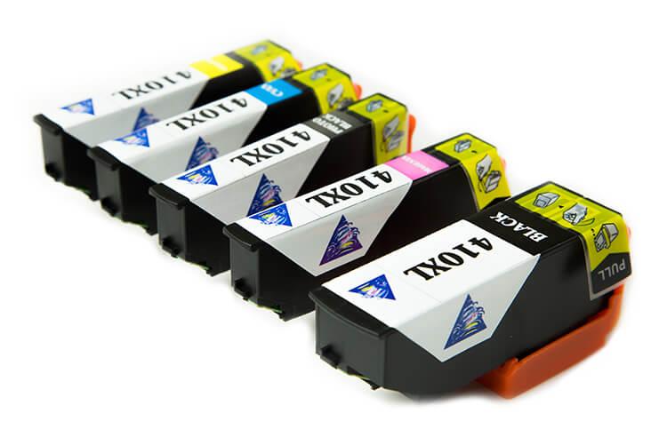 Комплект одноразовых картриджей для Epson Expression Premium XP-830 от Inksystem