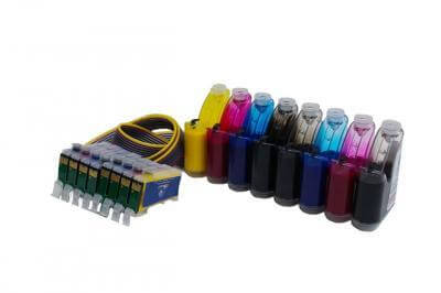 СНПЧ Epson Stylus Photo R1800Производство: Южная Корея Материал корпуса СНПЧ: поликарбонат Материал шлейфа: силикон Чипы: версии 5.0<br>