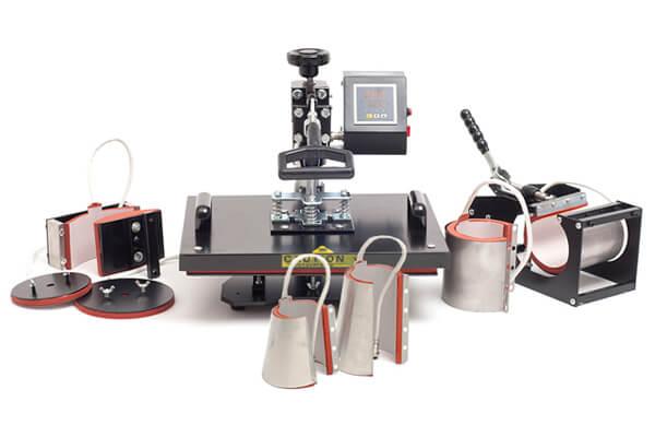 Термопресс Grafalex многофункциональный 8 в 1. Производитель: Grafalex, артикул: 12445