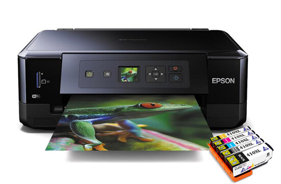 МФУ Epson Expression Premium XP-530 Refurbished с картриджами INKSYSTEM