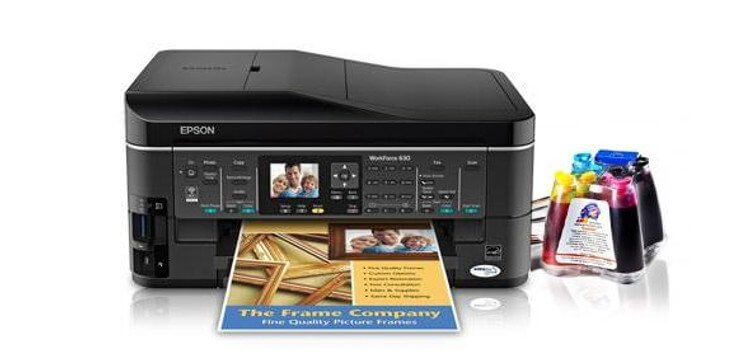 фото МФУ Epson WorkForce 630 Refurbished с СНПЧ