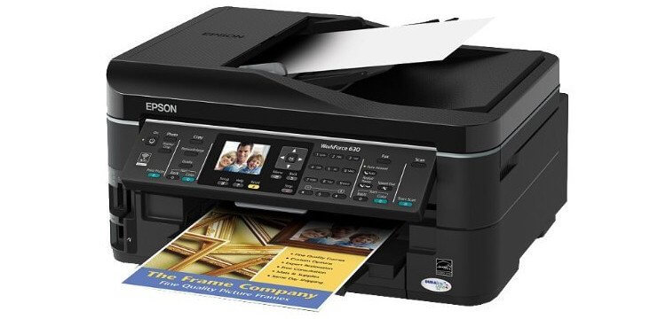 EPSON WorkForce 630 Refurbished с СНПЧ