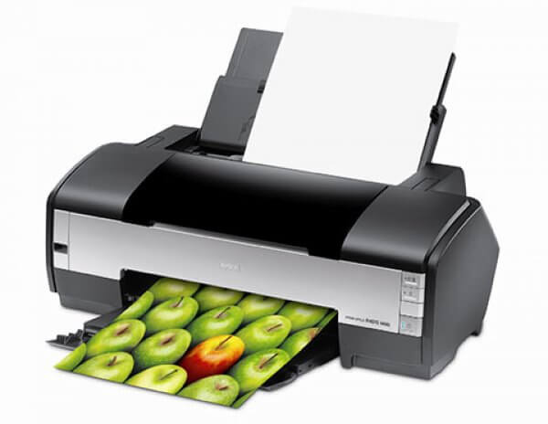 EPSON Stylus Photo 1400 Refurbished с СНПЧ 3
