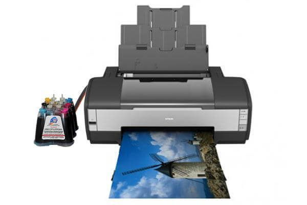 фото Принтер Epson Stylus Photo 1400 Refurbished с СНПЧ