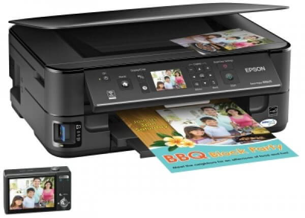 EPSON  NX625 Refurbished с СНПЧ 4