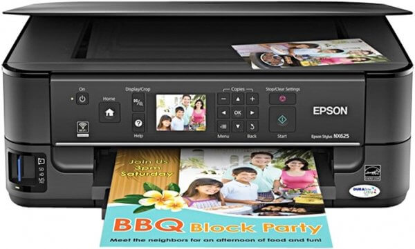 EPSON  NX625 Refurbished с СНПЧ 5