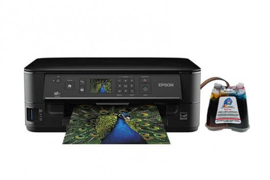 изображение МФУ Epson Stylus NX625 Refurbished by Epson с СНПЧ и чернилами