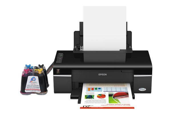 фото Принтер Epson WorkForce 40 Refurbished с СНПЧ