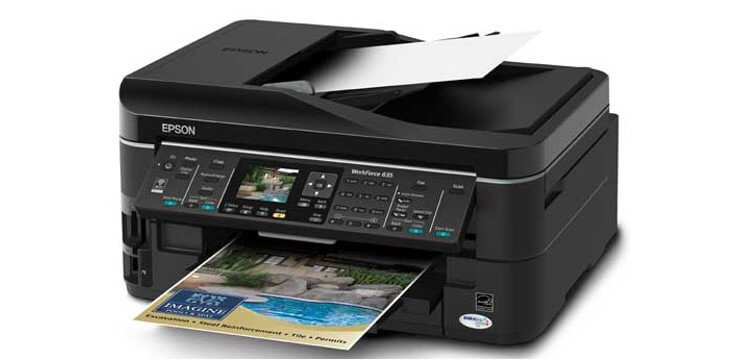 EPSON WorkForce 635 Refurbished с СНПЧ