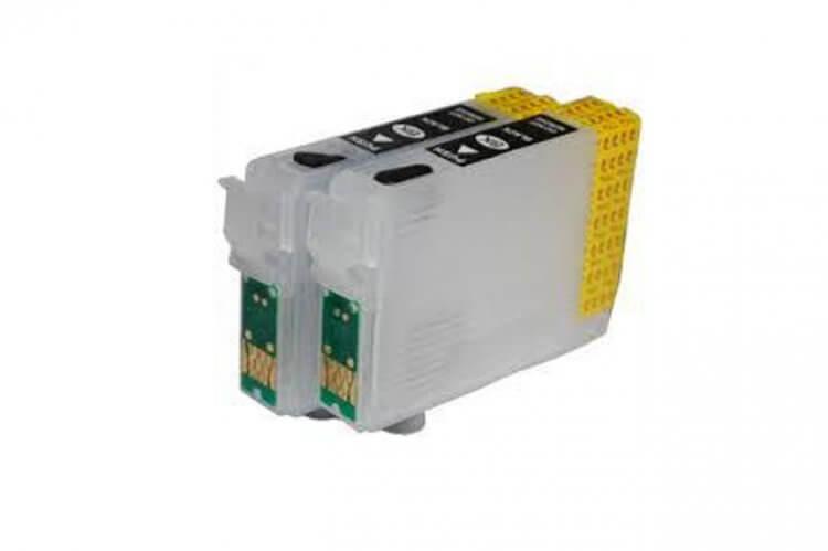 Перезаправляемые картриджи для Epson K201 картридж epson t1361 black для k101 k201 k301 c13t13614a10 2шт в упаковке