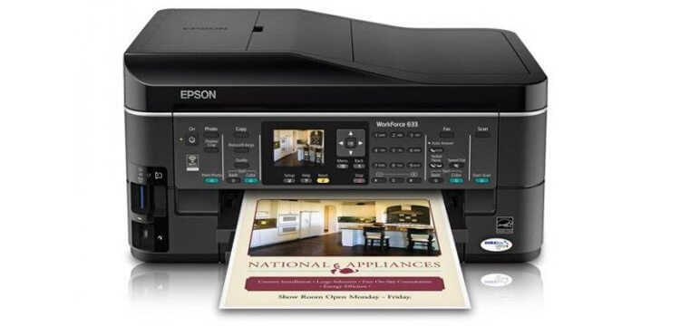 EPSON WorkForce 633 Refurbished с СНПЧ