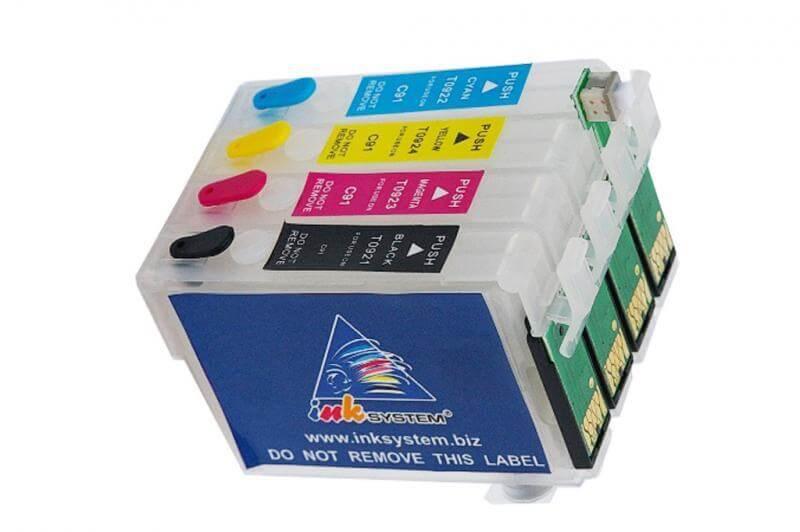 Перезаправляемые картриджи для Epson Stylus TX200 фото