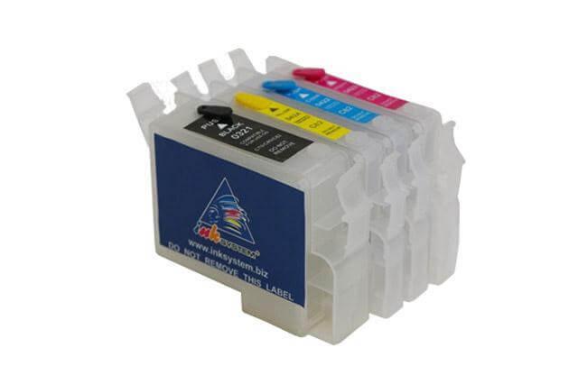 Перезаправляемые картриджи для Epson Stylus C82. Производитель: INKSYSTEM, артикул: 1496
