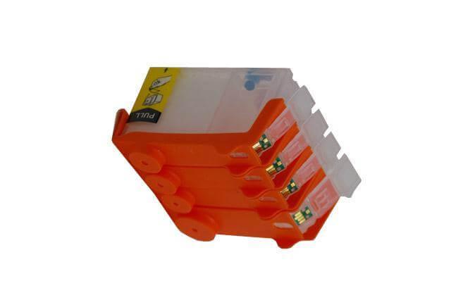 Перезаправляемые картриджи для Canon PIXMA IX4000 перезаправляемые картриджи для canon pixma mg5140
