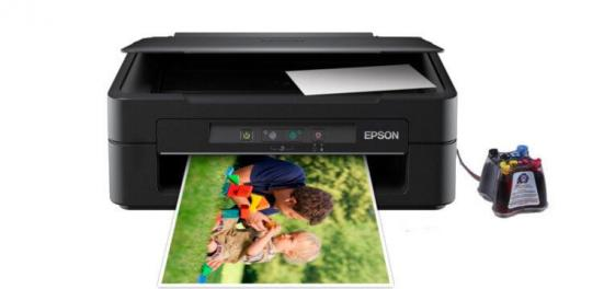 фото МФУ Epson Expression Home XP-103 с СНПЧ