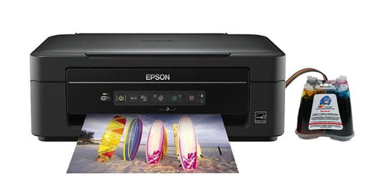 фото МФУ Epson Expression Home XP-203 с СНПЧ