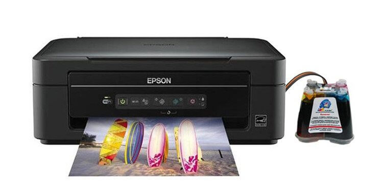 фото МФУ Epson Expression Home XP-207 с СНПЧ