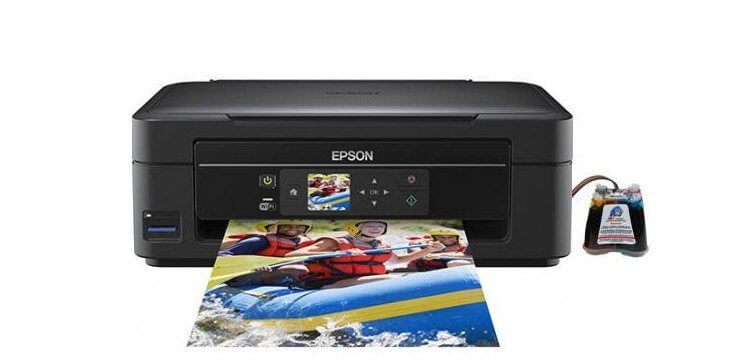 фото МФУ Epson Expression Home XP-303 с СНПЧ
