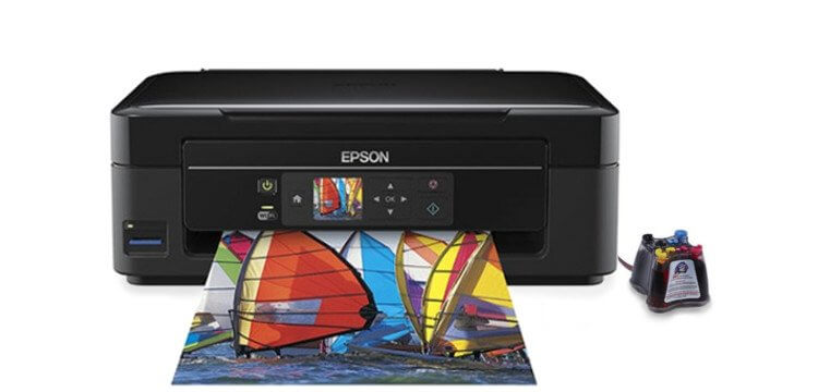 фото МФУ Epson Expression Home XP-306 с СНПЧ