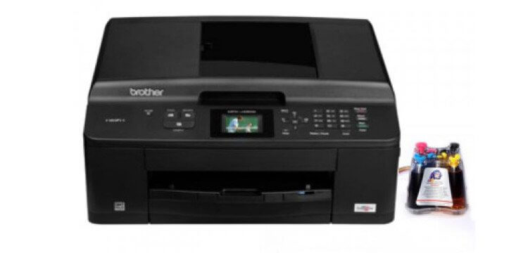 Brother DCP-J525W с СНПЧ