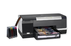 фото Принтер HP OfficeJet Pro K5400dn с СНПЧ