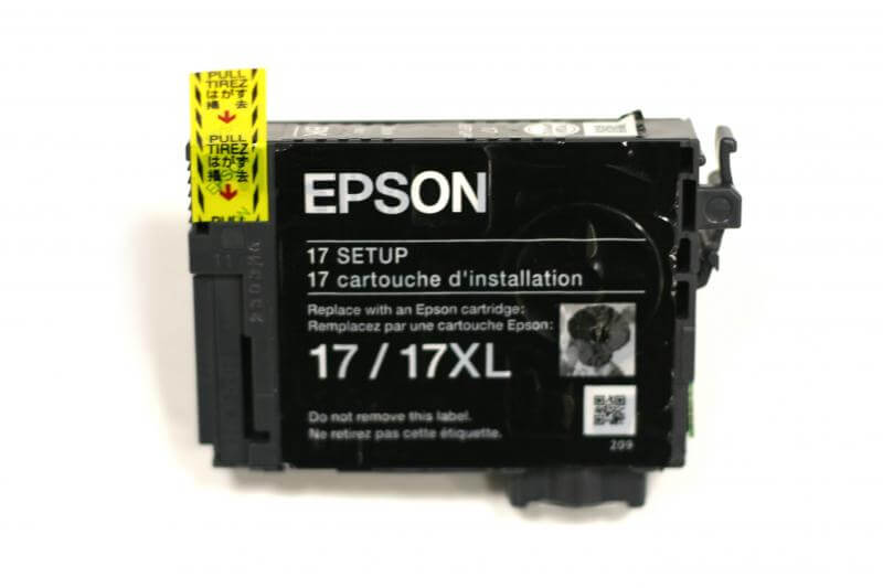 Картридж Epson T1701 Black (черный) код C13T17014A10 procolor new refillable ink cartridges south america mexico version for epson t1951 t1954 t1961 t1964 t1971 xp 101 201 xp 211