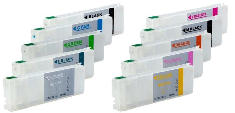Перезаправляемые картриджи для Epson Stylus Pro 9900 от Inksystem